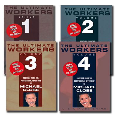 The Ultimate Workers - Michael Close - Vols. 1 - 4