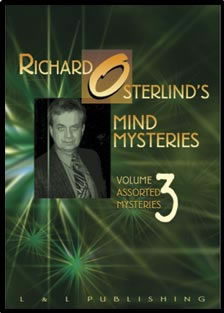 Mind Mysteries Vol. 3 (Assort. Mysteries) by Richard Osterlind v